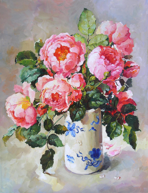 Картина копия с картины старого мастера автор копии Евгения Корнеева